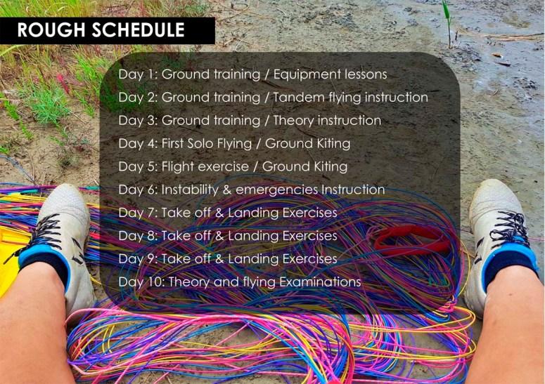 ifec paragliding course